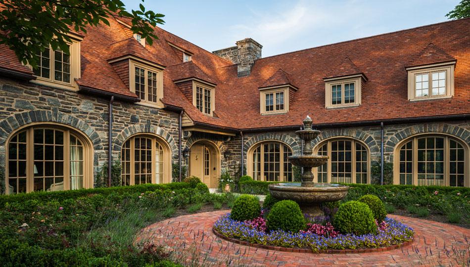 elegant tile roofing