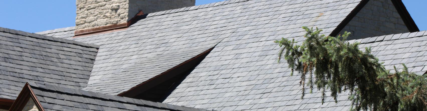 SlateTec Lightweight slate roof system. Genuine sla